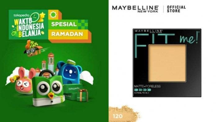 Ilustrasi. Simak harga Maybelline Fit Me Powder Matte Poreless di dalam promo Tokopedia 2021