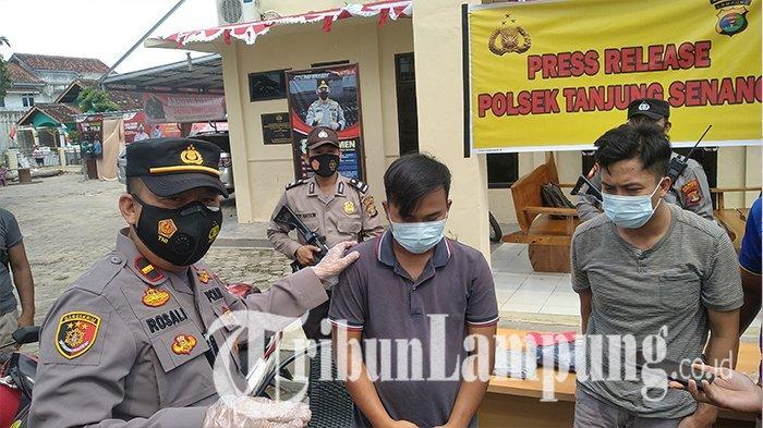 Begini Pelaku Pencuri Spesialis Kursi Antik di Bandar Lampung Angkut Hasil Curian