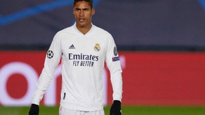 Bursa Transfer Liga inggris, Tiga Klub Raksasa Berebut Tanda Tangan Bek Real Madrid Raphael Varane