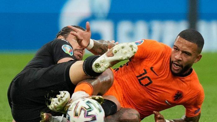 UPDATE Hasil Pertandingan Euro 2020, Belanda Unggul 1-0 Atas Austria di Babak Pertama