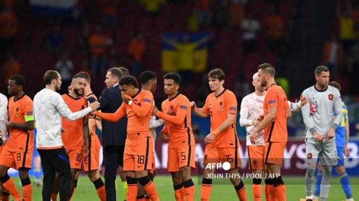 UPDATE Hasil dan Klasmen Euro 2020, Belanda Berhasil Atasi Perlawanan Sengit Ukraina