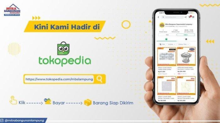 Belanja Bahan Bangunan di MBS Lampung Tinggal Klik, Bayar, Siap Antar