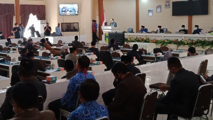 Belanja Daerah Tanggamus dalam APBD Perubahan 2020 Sebesar Rp 1,803 Triliun