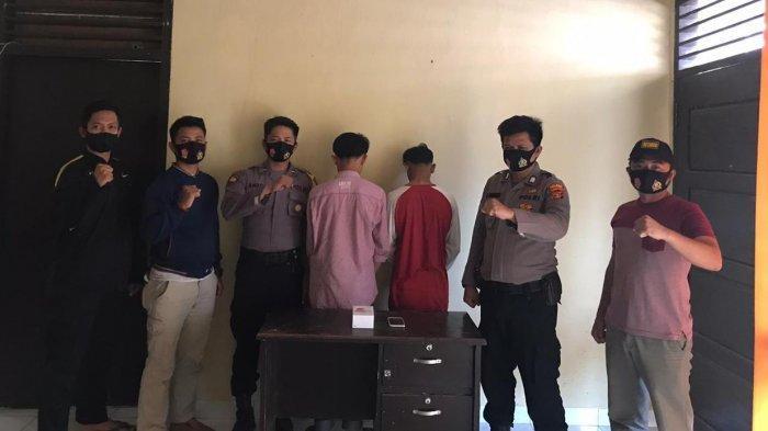 BREAKING NEWS Beli Ponsel Hasil Kejahatan, 2 Pelajar SMA di Pringsewu Diringkus