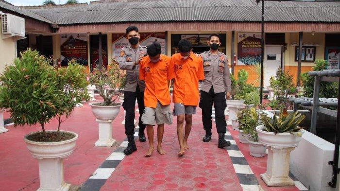 Beli Tembakau Gorila Pakai Modus Paket Jam Tangan, 2 Pemuda di Pringsewu Lampung Diringkus