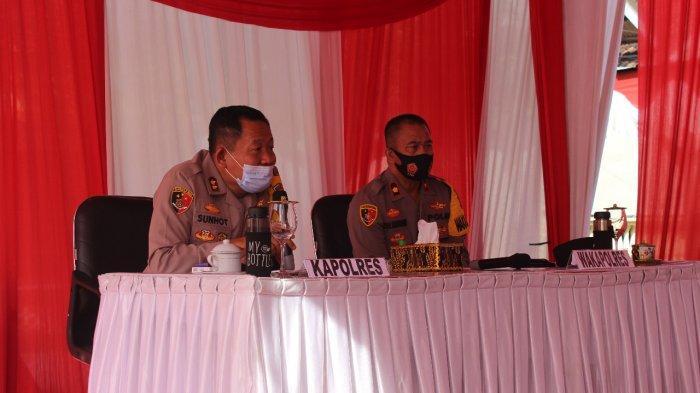 Belum Sepekan Menjabat, Kapolres Tubaba Lampung Launching Program Tubaba Sehat