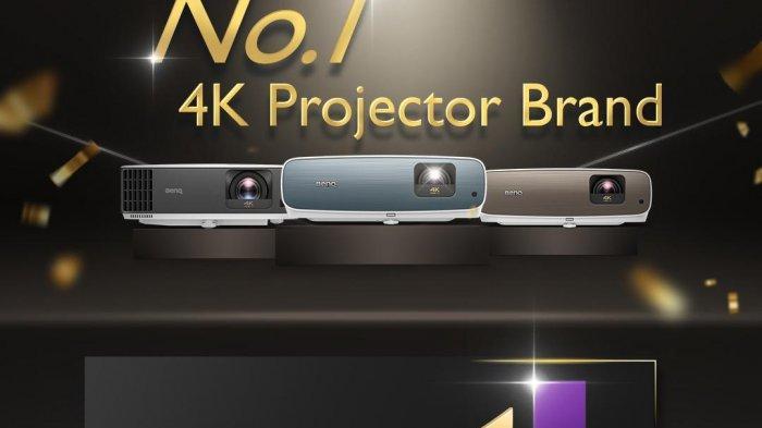 BenQ Menempati Peringkat 1 untuk Proyektor 4K Se-Asia Pasifik