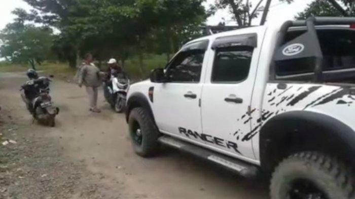 Pertikaian warga di Kampung Bumi Aji, Kecamatan Anak Tuha, Lampung Tengah mengakibatkan dua orang tewas, Kamis (14/1/2021).