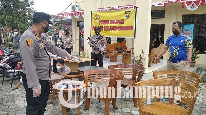 Beraksi Sejak Sebulan, Pencuri Spesialis Kursi Antik di Bandar Lampung Sasar 13 Rumah