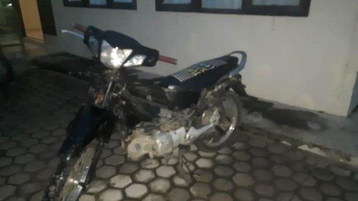 Berdalih Minta Tolong Diantar ke Warung, Pemuda Asal Abung Semuli Bawa Kabur Motor Tetangganya