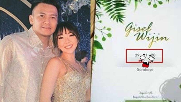 Undangan Pernikahan Atas Nama Gisel dan Wijin Viral, Terungkap Tanggal Pernikahannya