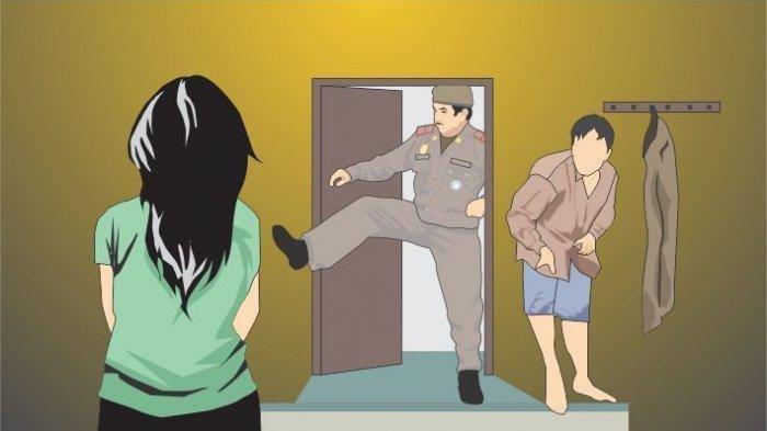 Viral Istri Tentara Digerebek Suaminya, Diduga Selingkuh dengan Oknum Polisi
