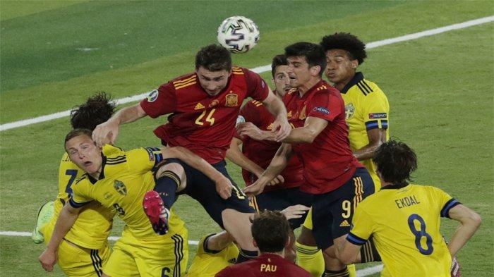 Berikut hasil Euro 2020 pertandingan antara Spanyol vs Swedia2