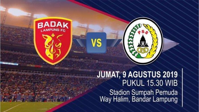Laga Liga 1 Indonesia 2019 Perseru Badak Lampung FC vs PSS Sleman, Harga Tiketnya Mulai Berubah Lho!