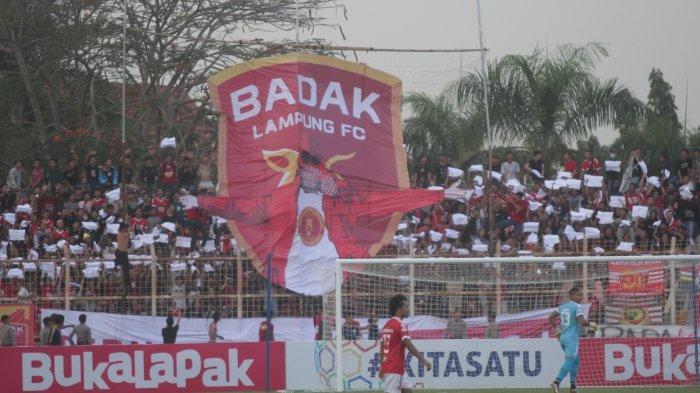 Hadapi Persija Jakarta, Badak Lampung FC Didukung Penuh Suporter