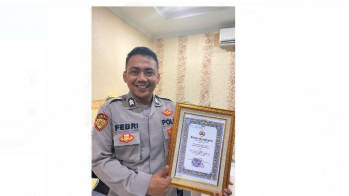 Personil Polda Lampung Berhasil Raih Penghargaan Nasional