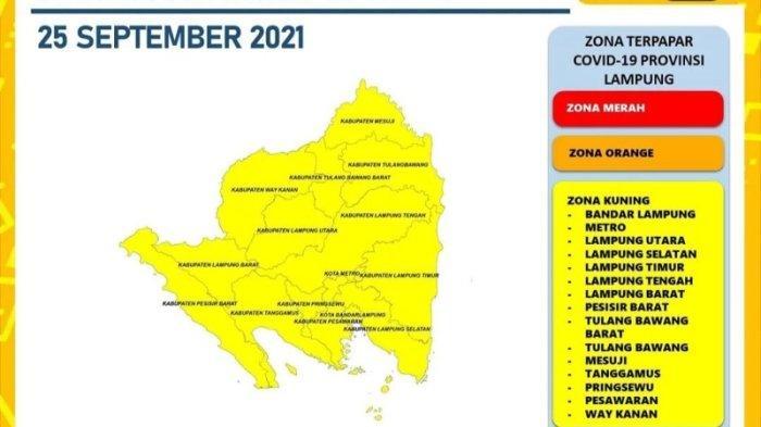 Bertambah 37 Kasus Covid-19 di Lampung, Bandar Lampung Sumbang 9 Kasus