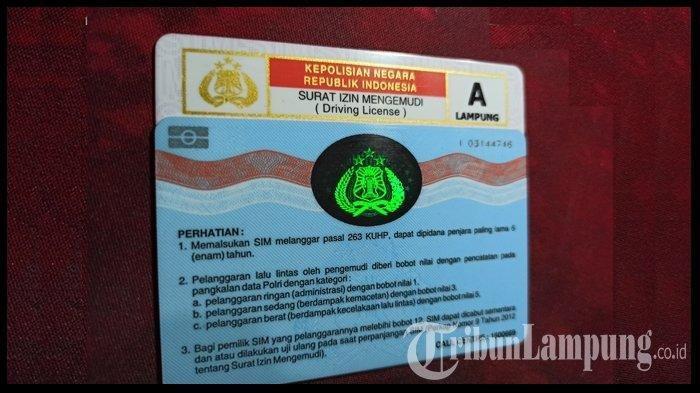 Biaya Bikin SIM A Online Tahun 2021, Akses Melalui sim.korlantas.polri.go.id
