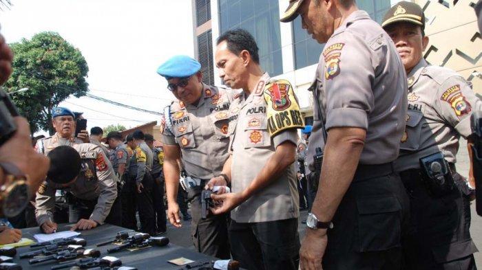 Bid Propam Polda Lampung Cek Kedisiplinan Personel Polresta Bandar Lampung