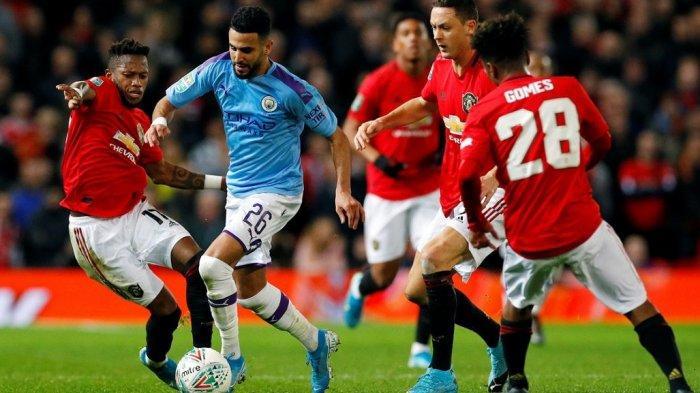 Big Match Liga Inggris Man City vs Man United, Kedua Tim Sama-sama Bawa Rekor Mengerikan