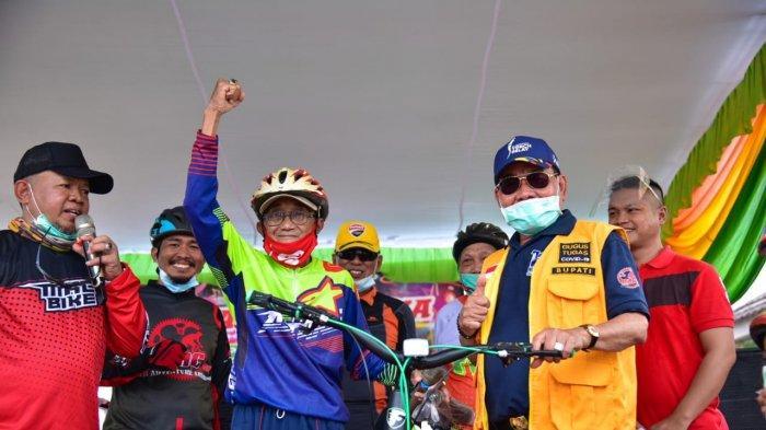 Dalam rangka menyambut Hari Ulang Tahun (HUT) ke-12 Kabupaten Mesuji, Pemkab Mesuji melalui Dinas Pemuda, Olahraga, dan Pariwisata (Disporapar) menggelar acara Fun Bike.