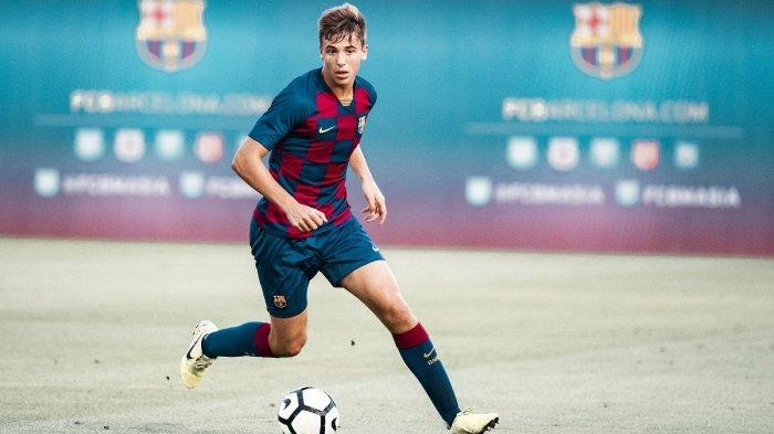 Ilustrasi. Bursa Transfer Liga Inggris Manchester City Dikabarkan Tertarik pada Bintang Muda Barcelona Nico Gonzalez
