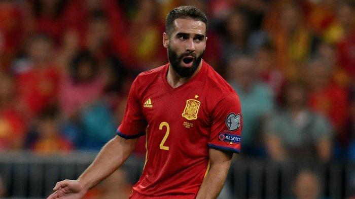 Biodata Daniel Carvajal, Pemain Timnas Spanyol di Ajang Euro 2020