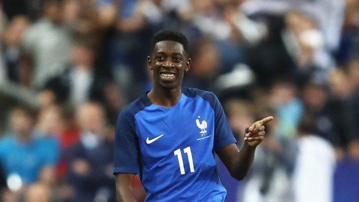 Ousmane Dembele, Bintang Muda dan Penggawa Andalan Timnas Prancis di Ajang Euro 2020