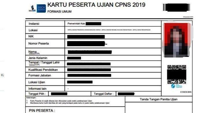 BKD Bandar Lampung Imbau Peserta Tes CPNS Cetak Ulang Kartu Ujian Berlogo SSCASN