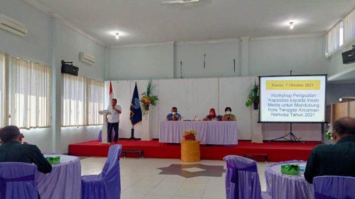 BNN Metro Lampung Ajak Media Perangi Narkoba