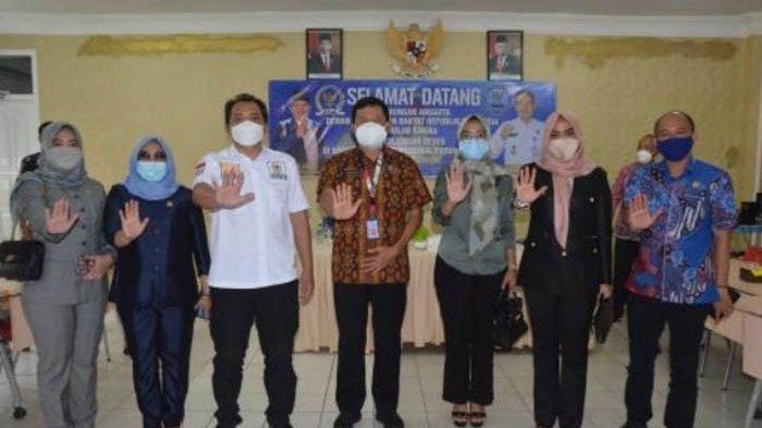 BNNP Lampung Terima Kunjungan Anggota DPR RI