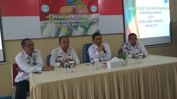 BNNP Lampung Pastikan Tak Ada Pabrik Narkoba di Lampung, Kepala BNNP: Kalau Ada Kami Bom!