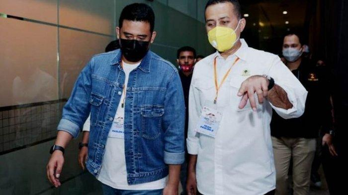 Bobby Nasution Lebih Tenang Didampingi Musa Rajeckshah saat Debat Pilkada Medan 2020