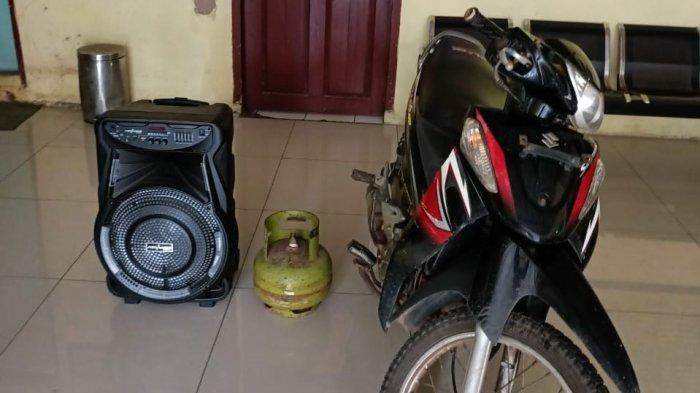 Bobol Warung di Katibung Lampung Selatan, Pelaku Dibekuk Polisi