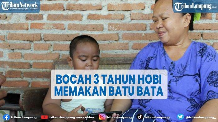 Awalnya Doyan Makan Pasir, Bocah di Indramayu Hobi Makan Batu Bata