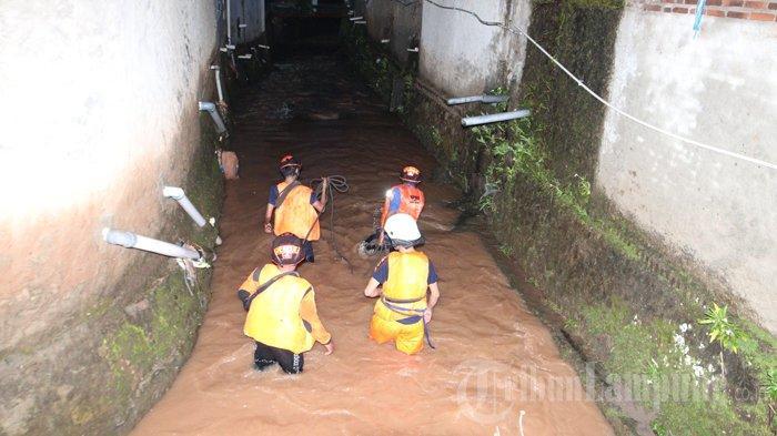 Bocah Hanyut di Bandar Lampung Sepulang Mengaji, Sempat Teriak Minta Tolong