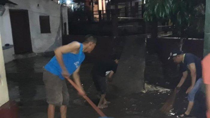 BPBD Turunkan Dua Tim Bantu Evakuasi Banjir di Dua Titik di Bandar Lampung