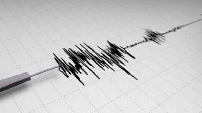 Gempa M 5,0 Guncang Pesisir Barat, Lampung