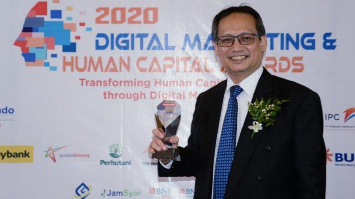 BPJAMSOSTEK Sabet 2 Penghargaan Dalam Ajang Digital Marketing & Human Capital Award 2020