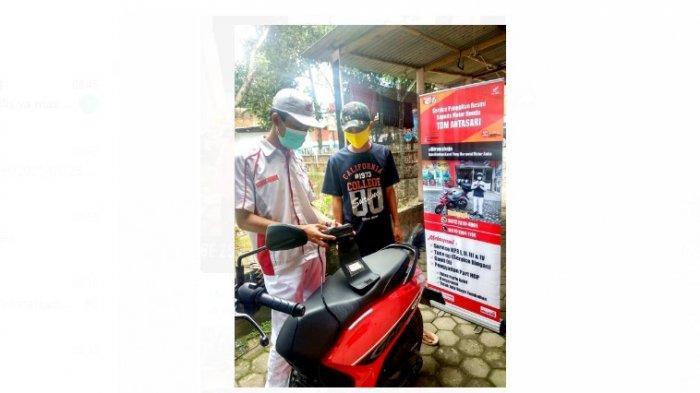 Sipanggil TDM Lampung, Solusi Mudah Service Motor Honda