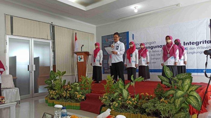 BPS Lampung Komitmen Wujudkan Instansi Bersih dan Melayani Melalui Zona Integritas