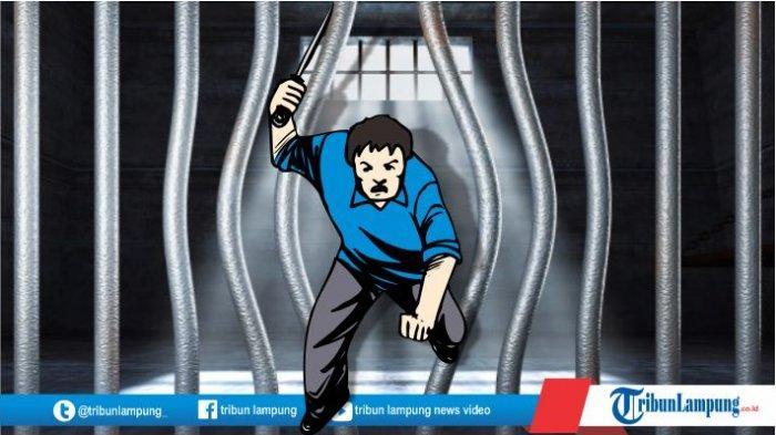 Satu Tahanan Kabur Polsek Natar Menyerahkan Diri Diantar Keluarga