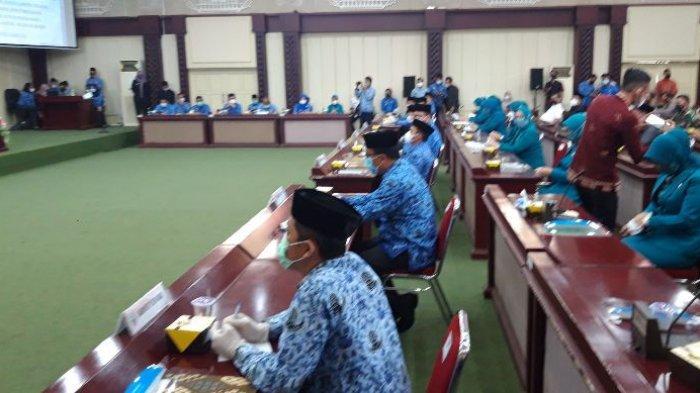 BREAKING NEWS 8 Sekda di Lampung Hadiri Penyerahan Surat Tugas Plh Kepala Daerah