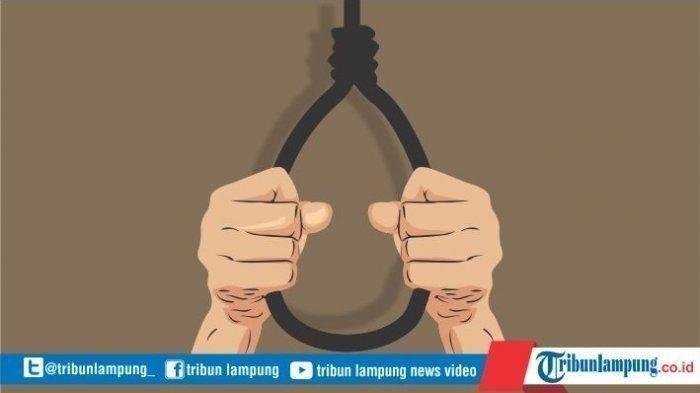 BREAKING NEWS Anak Penggal Leher Ayah Kandung di Lampung Tengah Tewas Gantung Diri