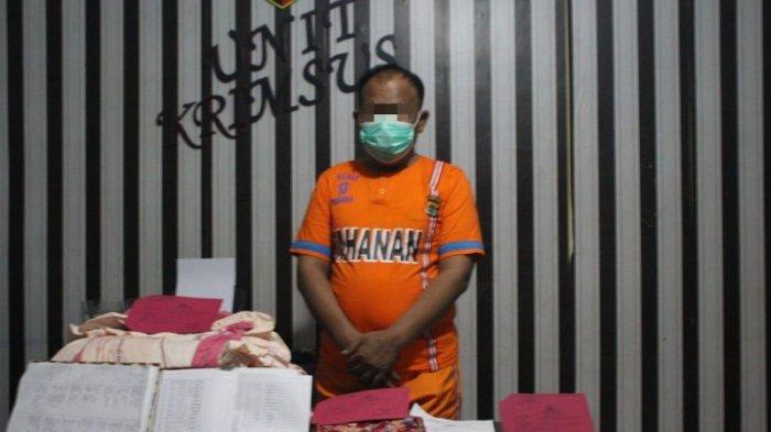 BREAKING NEWS Buat Laporan Palsu Kasus Asusila, Oknum Anggota DPRD Tulangbawang Barat Ditahan