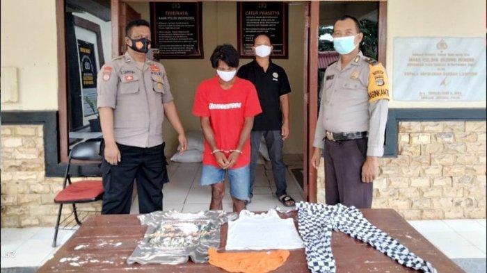 BREAKING NEWS Cabuli Anak Tiri Berusia 10 Tahun, Ayah di Tulangbawang Diciduk Polisi