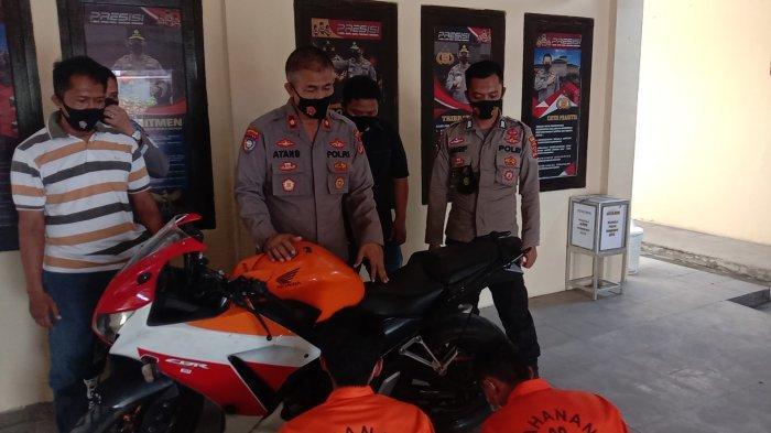 BREAKING NEWS Motor Honda CBR Dicuri di Talang Indah Pringsewu, Ditemukan di Bengkunat