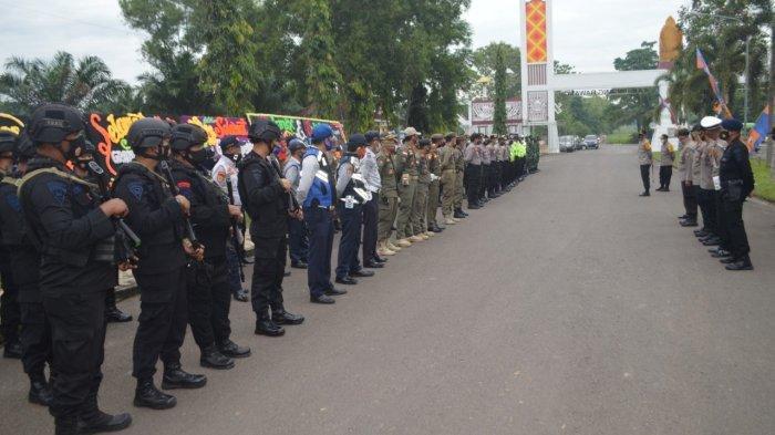 BREAKING NEWS Dihadiri Menpan RB, Ratusan Personel Amankan Peresmian MPP Tulangbawang