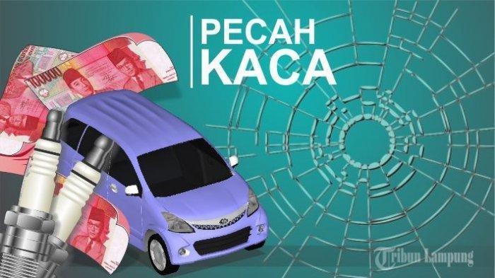 Polisi Olah TKP Pencurian Modus Pecah Kaca di Bank Lampung
