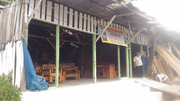 Kader Gerindra Lampung Duga Maling Incar Paket Sembako yang Disimpan di Gudang Meubel
